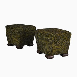 Ottomans, 1940s, Set of 2