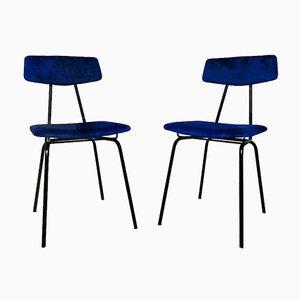 Italienische Stühle im Stil von Elettra für BBPR, 1960er, 2er Set