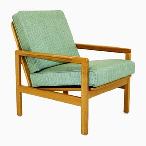 Swedish Oak Armchair, 1960s