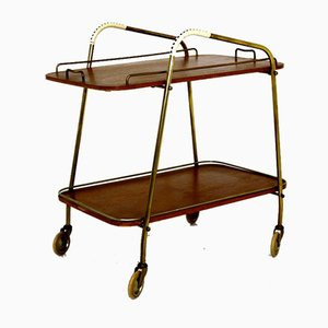 Swedish Teak Trolley, 1960s