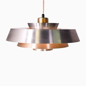 Copper Nova Pendant Lamp by Jo Hammerborg for Fog & Mørup, 1960s