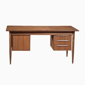 Danish Teak Free Standing Desk, 1960s