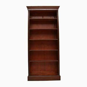 Antique Victorian Open Bookcase
