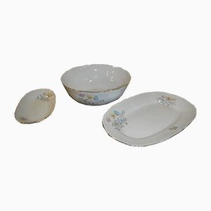 Italian Porcelain Tableware Set by Richard Ginori for Ariston, 1950s, Set of 15