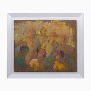 Renato Criscuolo, The Sun, Painting