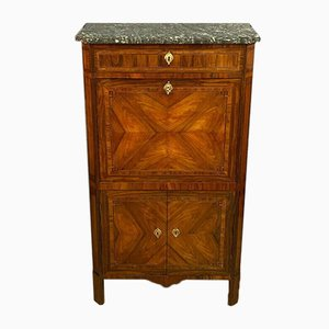 Louis XVI Wood Secretaire with Greek Style Marquetry, 1760s
