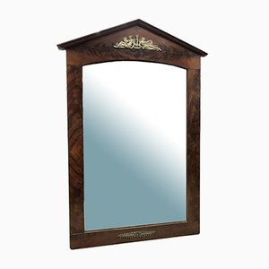 Empire Mahogany Mirror, 19th Century
