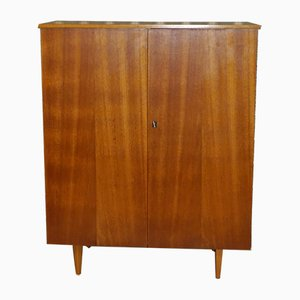 Walnut Linen Cupboard, 1960s