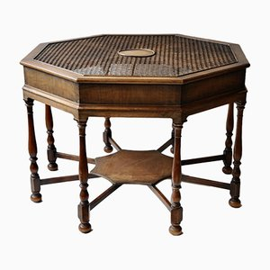 Antique Arts & Crafts Coffee Table from Joseph Trier Darmstadt