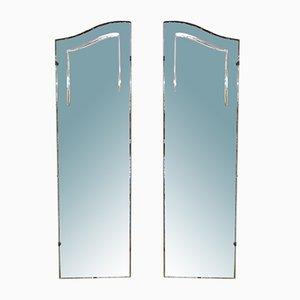Englische Spiegel, 1950er, 2er Set