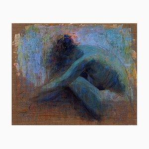 Renato Criscuolo, Meditazione, Huile sur Toile