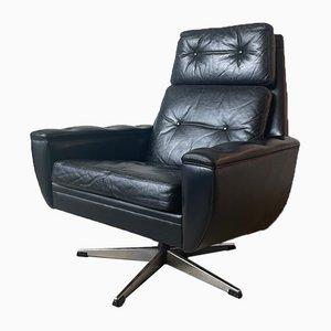 Mid-Century Swivel Lounge Chair by Svend Skipper