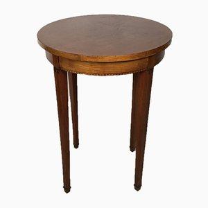 Art Deco Pedestal Side Table, 1920s