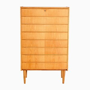Oak Chest of Drawers, 1960s