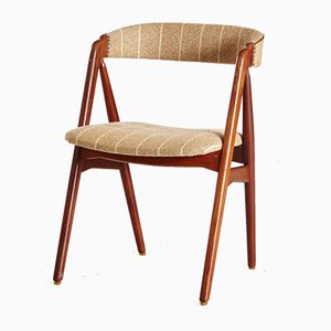 Danish Rosewood Side Chair by Th. Harlev for Farstrup Møbler, 1960s