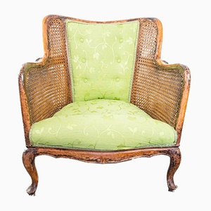 Vintage Vienna Straw Bergere Lounge Chairs, 1930s, Set of 2