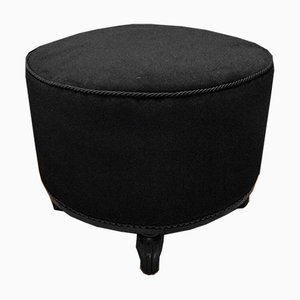 French Art Deco Upholstered Pouf or Stool, 1920s