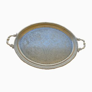 Antique Engraved Tray