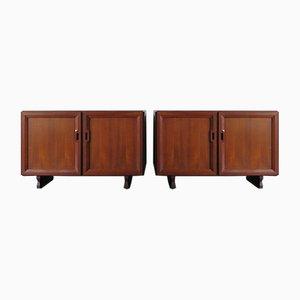 Italian Sideboards by Franco Albini for Poggi, 1950s, Set of 2