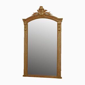 Vergoldeter Französischer Spiegel, 1800er