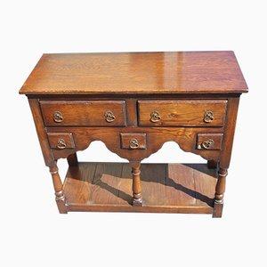 Small Oak Dresser Base Sideboard, 1960s