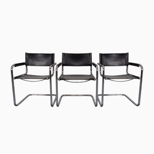 MG5 Cantilever Armchairs by Mart Stam & Marcel Breuer for Jox Interni, 1970s, Set of 3