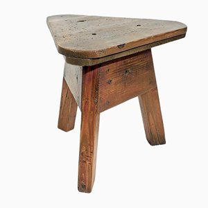 Vintage Side Table or Stool, 1930s
