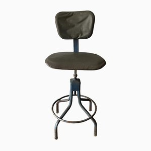 Mid-Century Industrial Adjustable Swivel Chair from Evertaut
