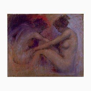 Renato Criscuolo, Nudi, Öl auf Leinwand