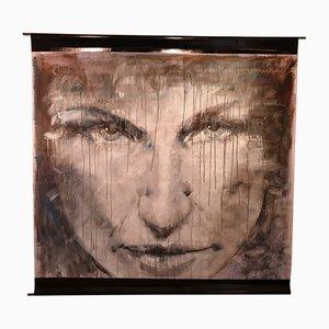 Giampiero Cavedon, Profonda espressione, Mixed Technique On Canvas