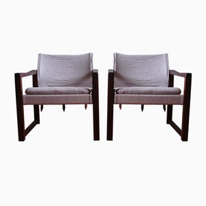 Diana Safari Lounge Chairs by Karin Mobring for Ikea, 1970s, Set of 2