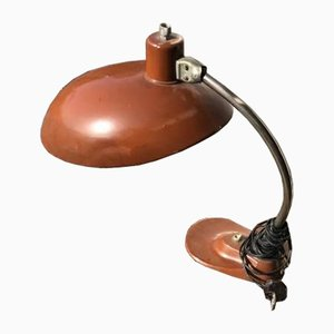 Lampada da tavolo EAKV marrone, anni '50