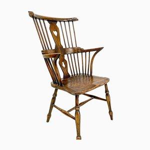 Antique Windsor Comb Back Side Chair