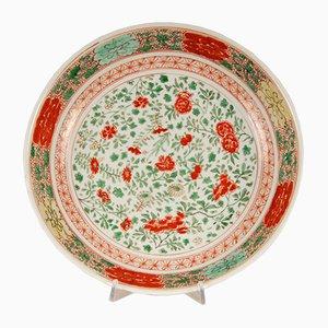 Antikes Chinesisches Famille Verte Porzellan Ladegerät, 1600er