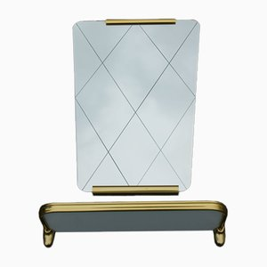 Mirror & Shelf, 1950s, Set of 2