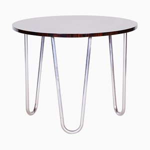 20th Century Rounded Macassar Bauhaus Table, 1930s