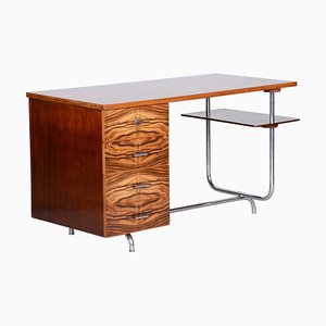 Art Deco Writing Desk by Jindrich Halabala, 1930s