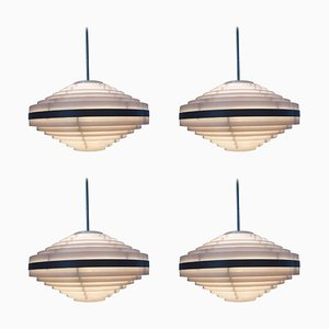 Suspensions Space Age de Style UFO, 1970s, Set de 4