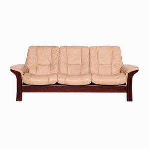 Windsor Grey Leather Sofa from Stressless