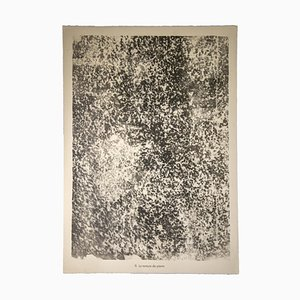 Jean Dubuffet, The Hanging Stone, Original Lithograph, 1959