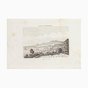 Lithographie Originale Saint Pierre, 19ème Siècle
