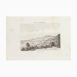 Saint Pierre, Originale Lithographie, 19. Jahrhundert