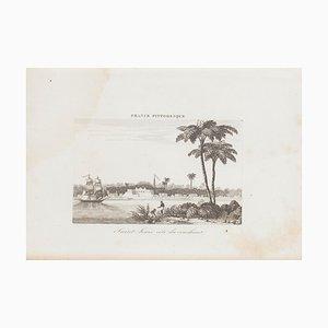 Lithographie Originale de France Pittoresque, Saint Louis, 19ème Siècle