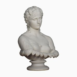 Copeland Parian Bust of a Female
