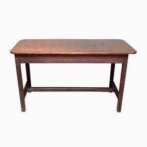 Rustic Mahogany Side Table