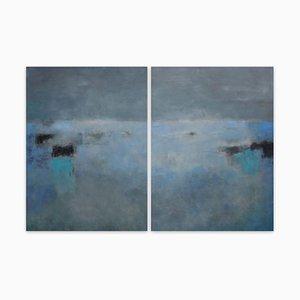 La Pré de Nuit, Abstract Painting, 2015