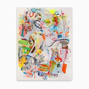 Schablone, Abstrakte Expressionistische Malerei, 2014