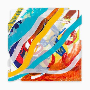 Jazz Cubano #20: Arturo and Elio, Thinking Out Loud, Abstract Painting, 2016