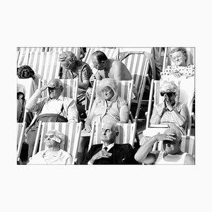 Fotografia vintage di Bandstand II, Eastbourne, Regno Unito, bianco e nero, 1985