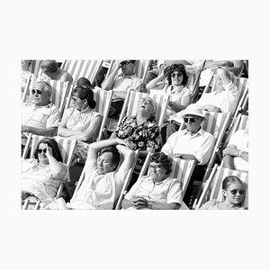 Fotografia vintage di Bandstand I, Eastbourne, Regno Unito, bianco e nero, 1985